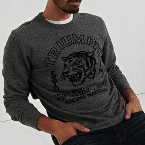 Lucky Brand Men's Triumph Sweatshirt, Plus XXL